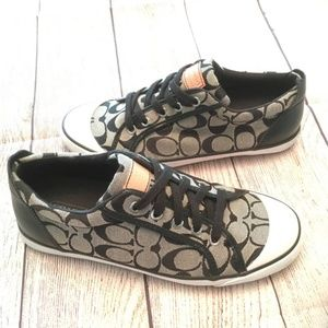 "Coach ""Barrett"" Signature canvas shoe"